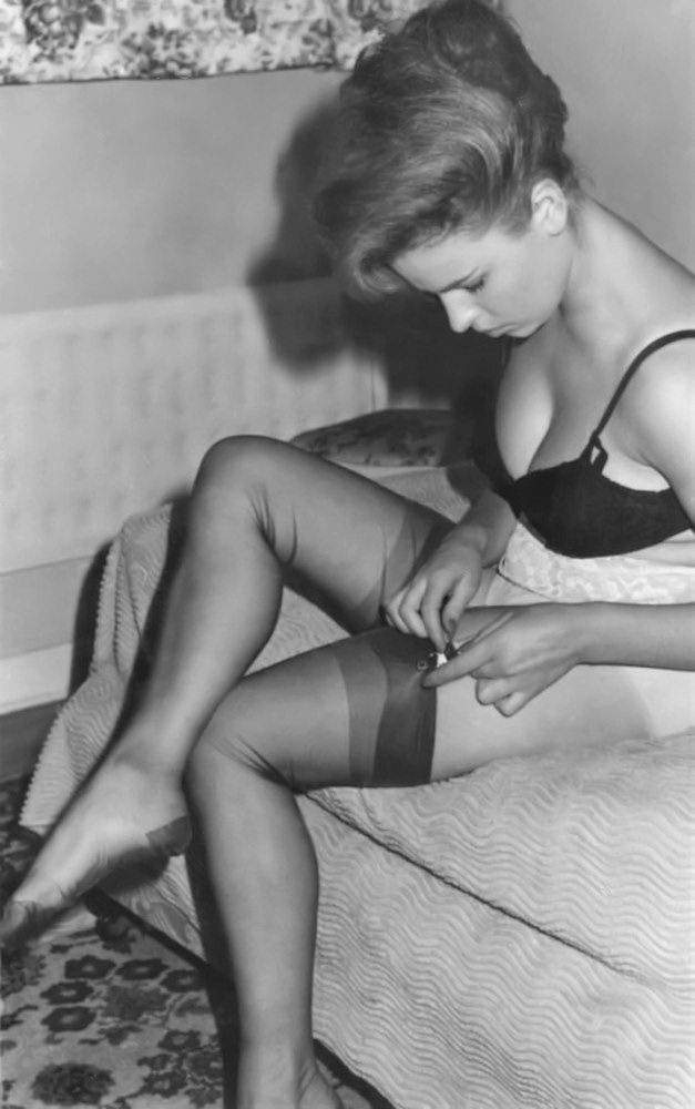 Remarkable, vintage stockings nobs can consult
