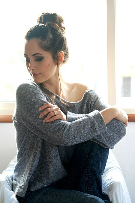 laneas | PORTFOLIO (off the shoulder sweater) Styling, Hair, makeup, photo by Lanea.
