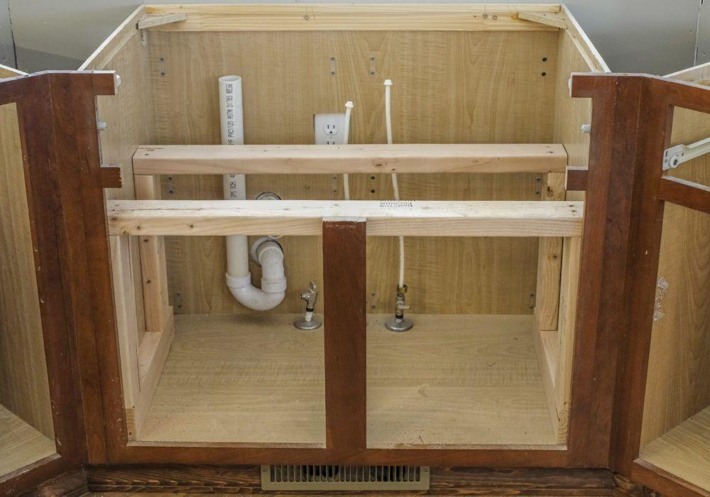 DIY Farmhouse Sink Installation Farmhouse sink kitchen