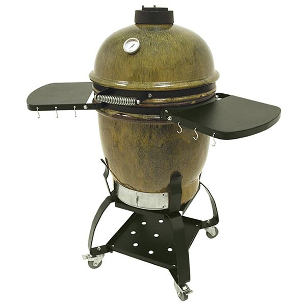 Bayou Classic Cypress Bbq Smoker Ceramic Grill Bayou Classic Grilling