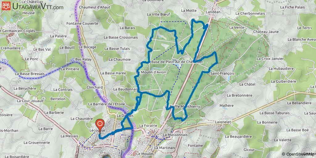 Rando De Lecousse 2019 25 Km Rando Vtt Randonnee Vtt Et Ille
