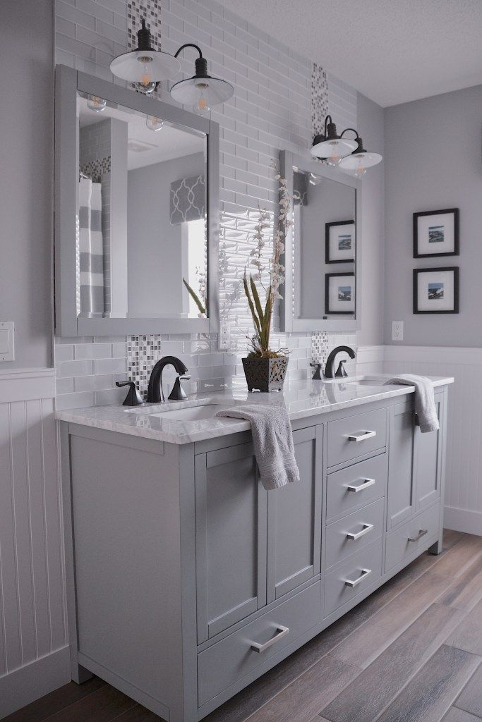 Photo of Home bathroom renovation reveal | oneplustwo design co.