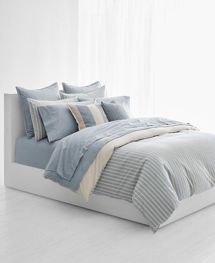 Photo of Lauren Ralph Lauren Graydon Bold Stripe Twin Comforter & Reviews – Bedding Collections – Bed & Bath – Macy's