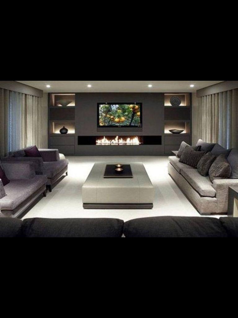 Plain but cute | Living room | Pinterest | Muebles living, Mueble tv ...