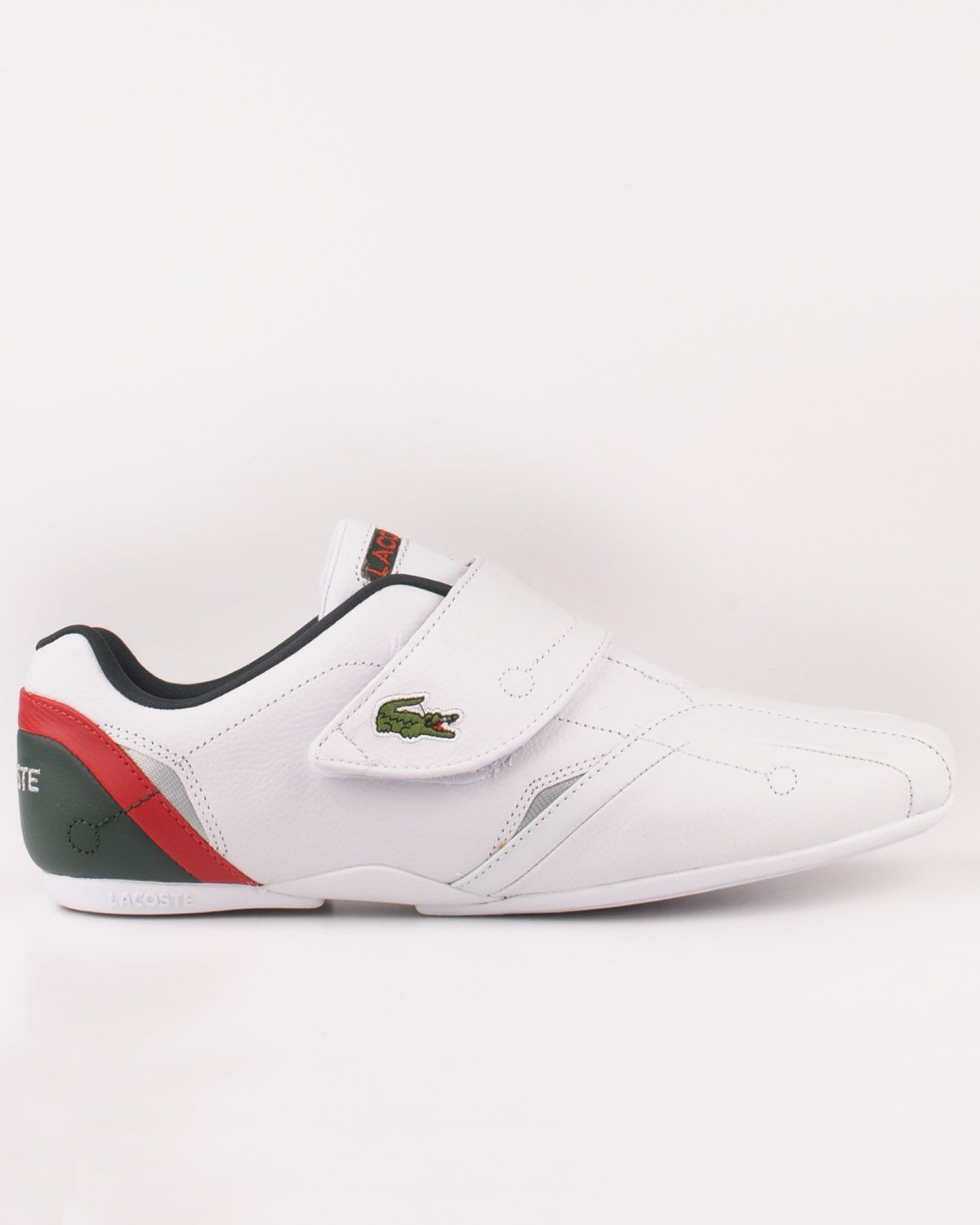 ec0eade58bc2d LACOSTE PROTECT SSP TRAINERS FOR MEN IN WHITE SILVER - Lacoste Trainers -  MelMorgan Sports