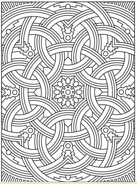 Coloring For Adults Kleuren Voor Volwassenen Geometric Coloring Pages Designs Coloring Books Coloring Pages