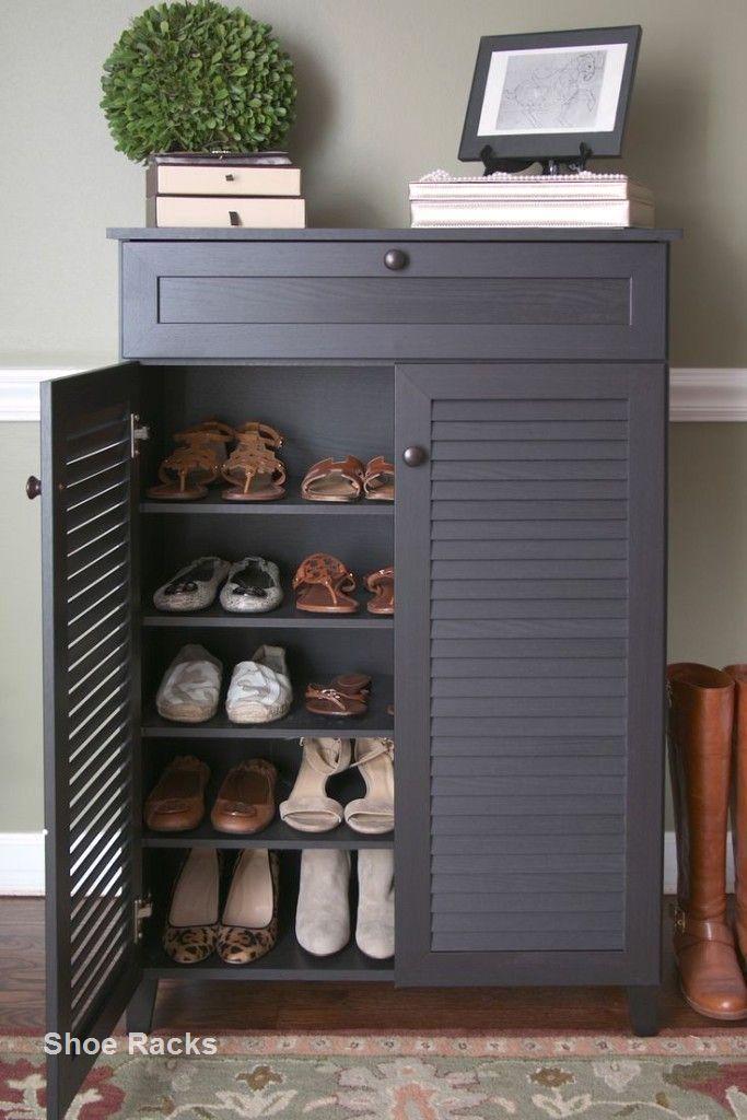 Diy Shoe Rack Design Ideas In 2020 Wood Shoe Storage Shoe Storage Cabinet Diy Shoe Rack