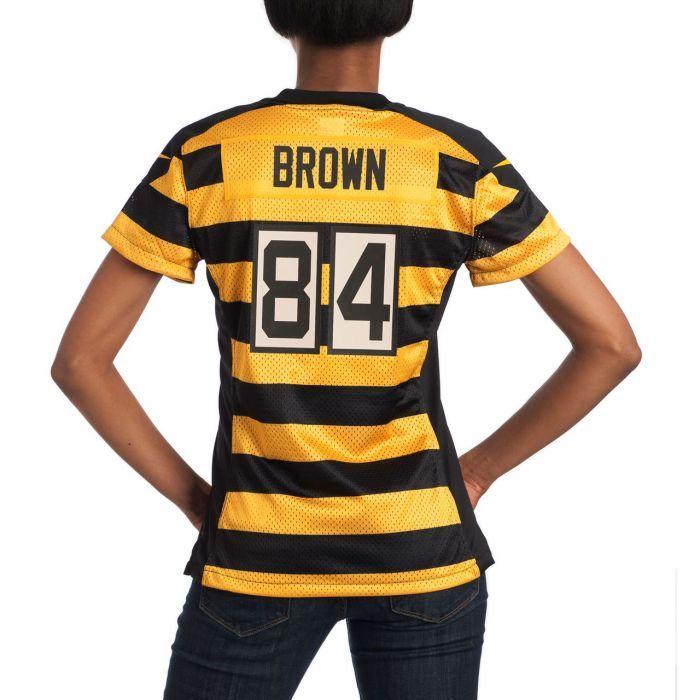 antonio brown striped jersey