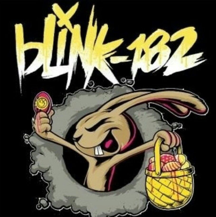 Blink 182 Easter Bunny Logo Blink 182 Bunny Logo Illustration