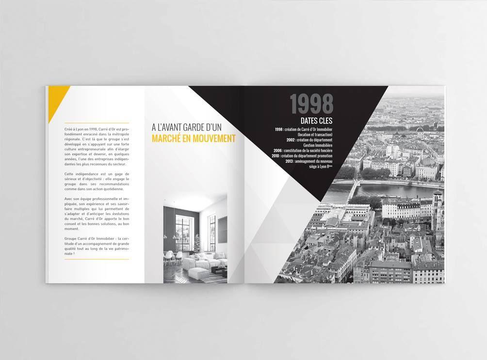 Assez Plaquette institutionnelle | plaquette commerciale | Pinterest  HT14