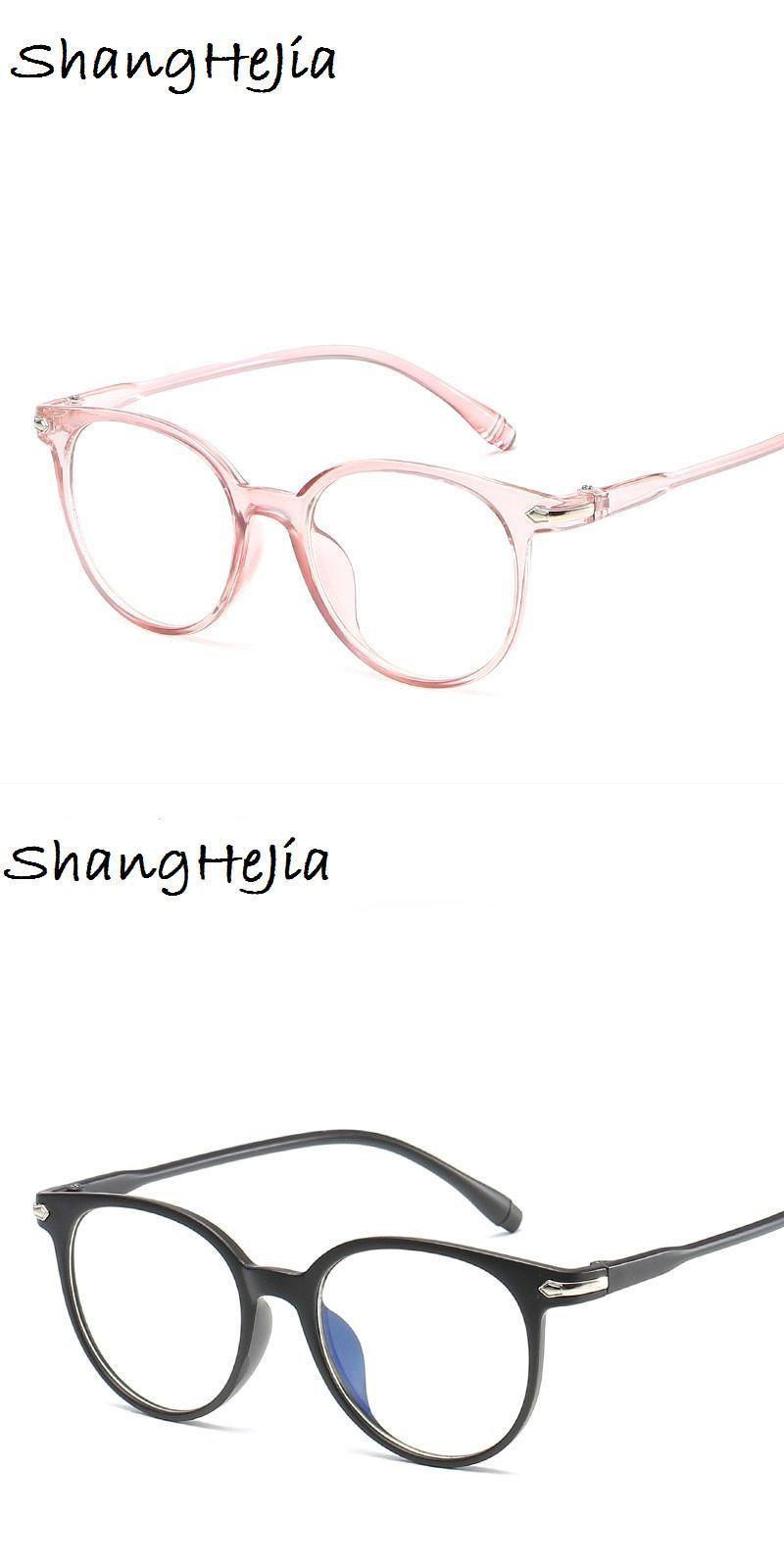 Transparent Fashion Women Glasses Frame Men Eyeglasses Frame Vintage Round Glasses Optical Spe Mens Glasses Frames Womens Glasses Frames Glasses Fashion Women