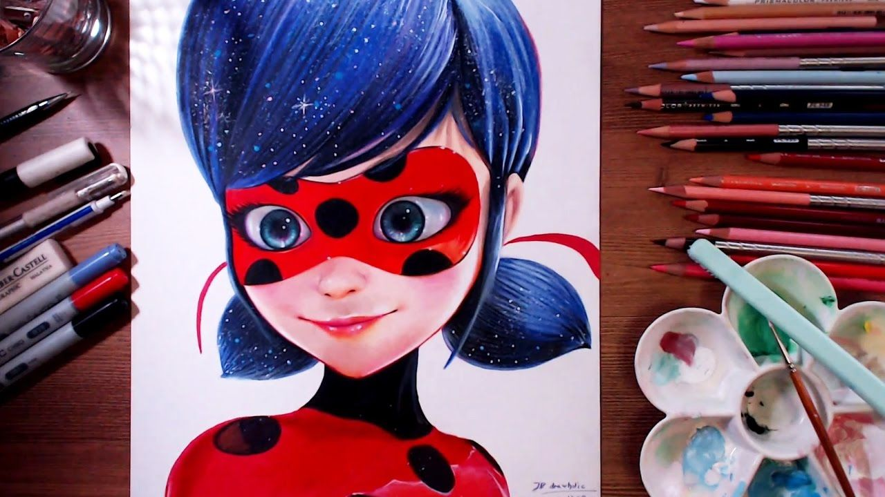 Miraculous Ladybug Marinette Speed Drawing Drawholic Youtube In 2020 Miraculous Ladybug Ladybug Art Ladybug