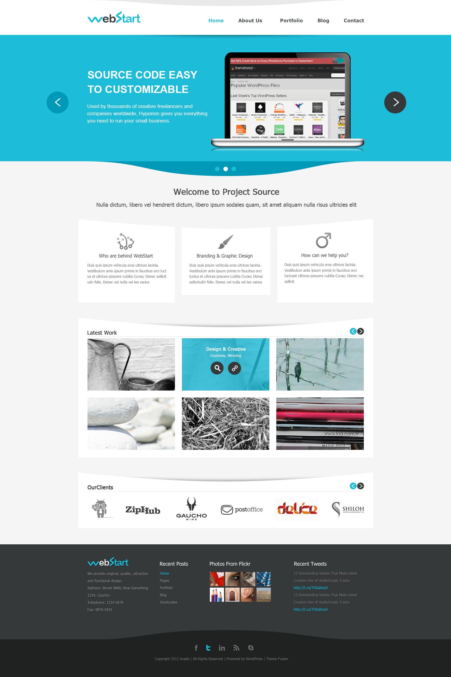 Webstart Psd Template Webstart Psd Template Web Design Programs Web Design Software Corporate Web Design