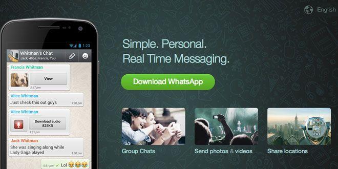 Cómo descargar WhatsApp para mi teléfono celular Mobile
