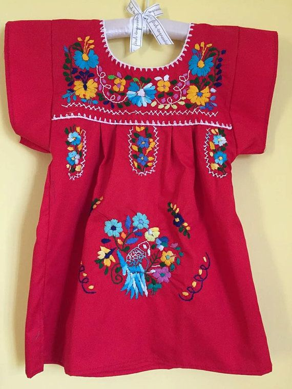Mexican dress tunic frida kahlo mexican party by Miamorcitocorazon
