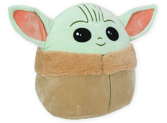 Giant Baby Yoda Squishmallow 20 Large Stuffed Plush Pillow Star Wars The Child Ebay Baby Toys Teddy Bear Stuffed Animal Toy Gift Guide
