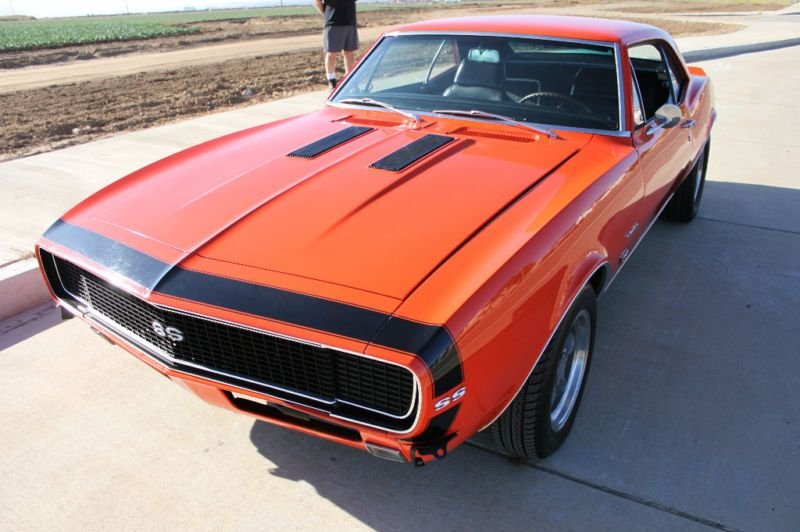 Example Of Road Commission Orange Paint On A 1967 Gm Camaro