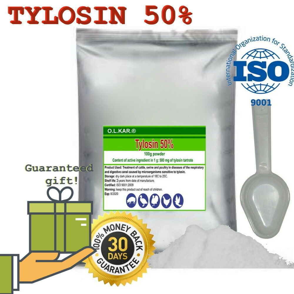 Powder Packet 50 Pharmasin Tylosin Tylan Tylmasin