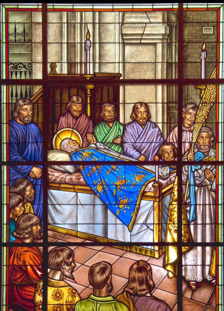 Vidrieras sobre el #MisteridElx en la cúpula de Santa María ( Foto ...