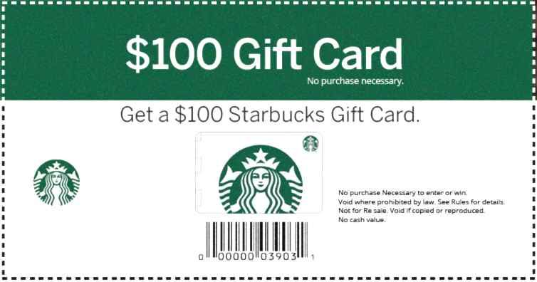 Get your card one per person in 2020 starbucks card