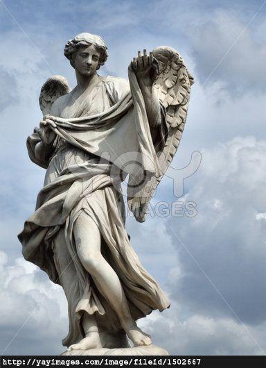 Rome Italy Angel Statue