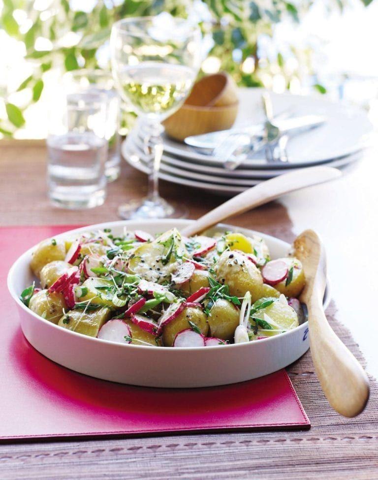 Potato And Radish Salad