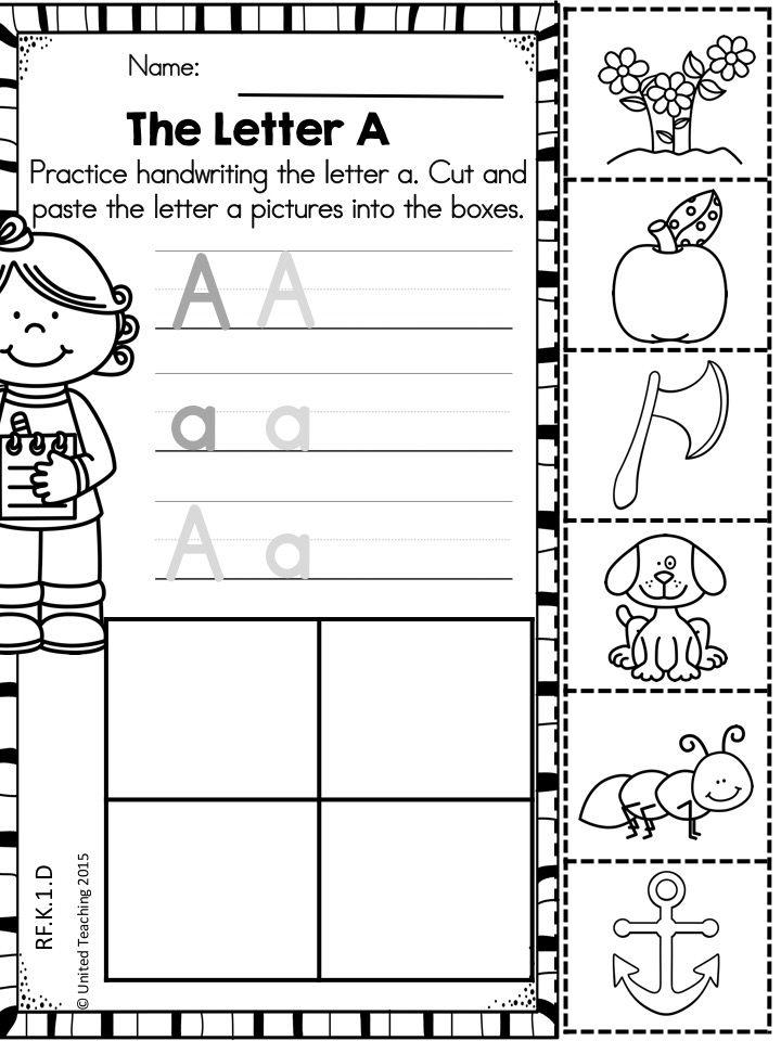 summer kindergarten language arts mega review no prep united teaching resources kindergarten. Black Bedroom Furniture Sets. Home Design Ideas