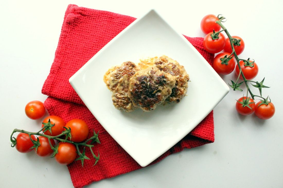 Beef and Parmesan Patties