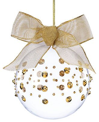 Lenox Gold Wrap Ornament Holiday Lane For The Home Macy S Christmas Ornaments Diy Christmas Ornaments Lenox Christmas Ornaments