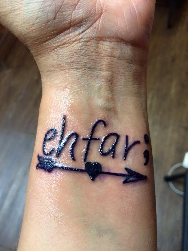 Meaning Ehfar Everything Happens For A Reason Semi Colon My