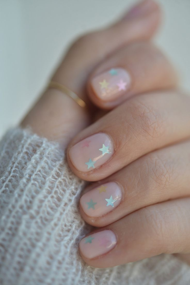 How To Do The Prettiest Yet Subtle Nail Art At Home Pinterest