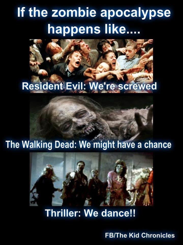 If The Zombie Apocalypse Happens Like The Walking Dead