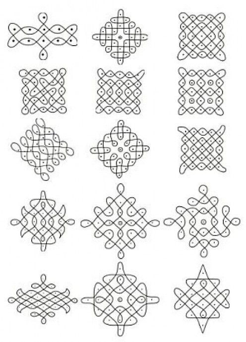 chukkala muggulu with dots pdf