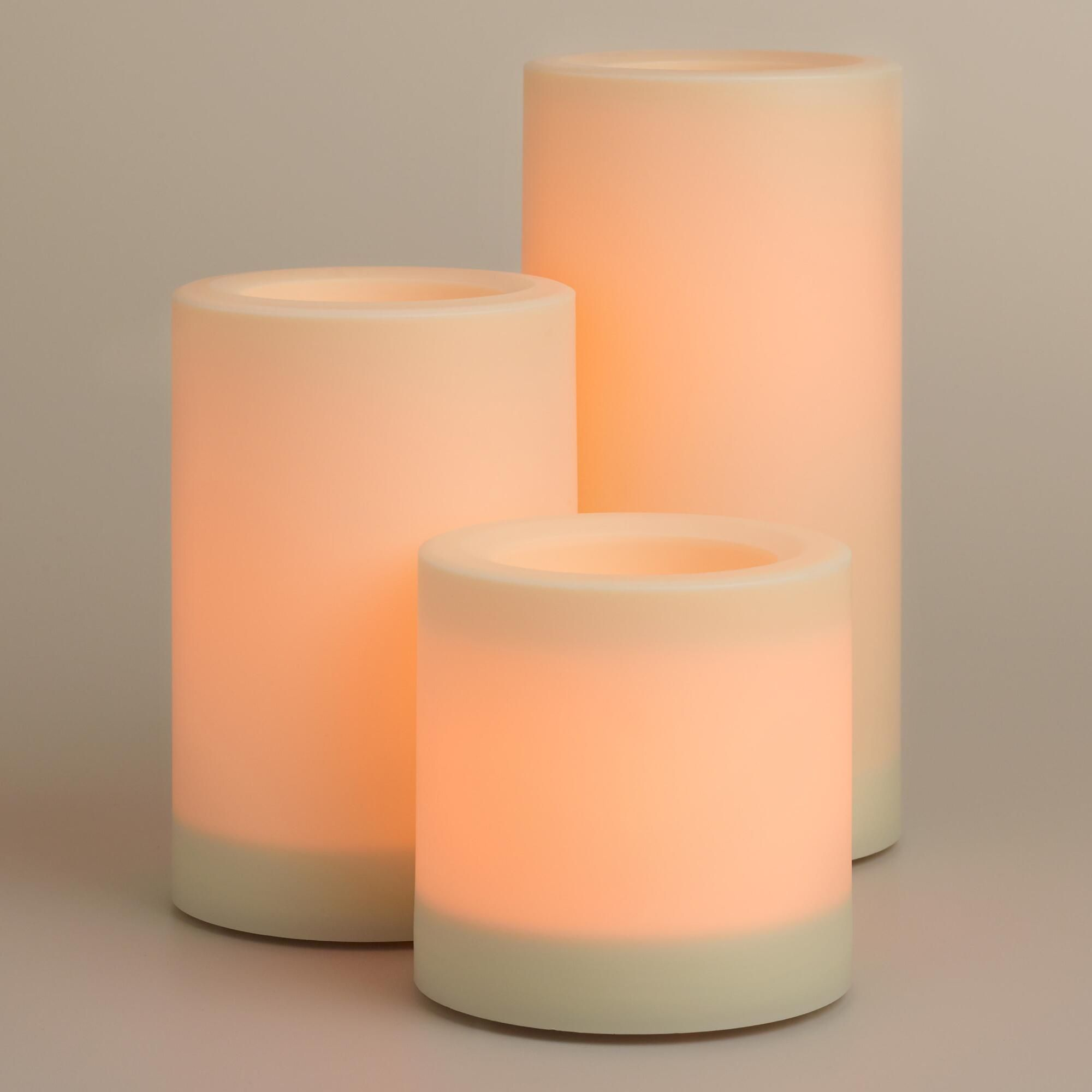 Outdoor Flameless Candles Fascinating Flameless Led Candles For The Outdoors At World Marketcomes With A Inspiration
