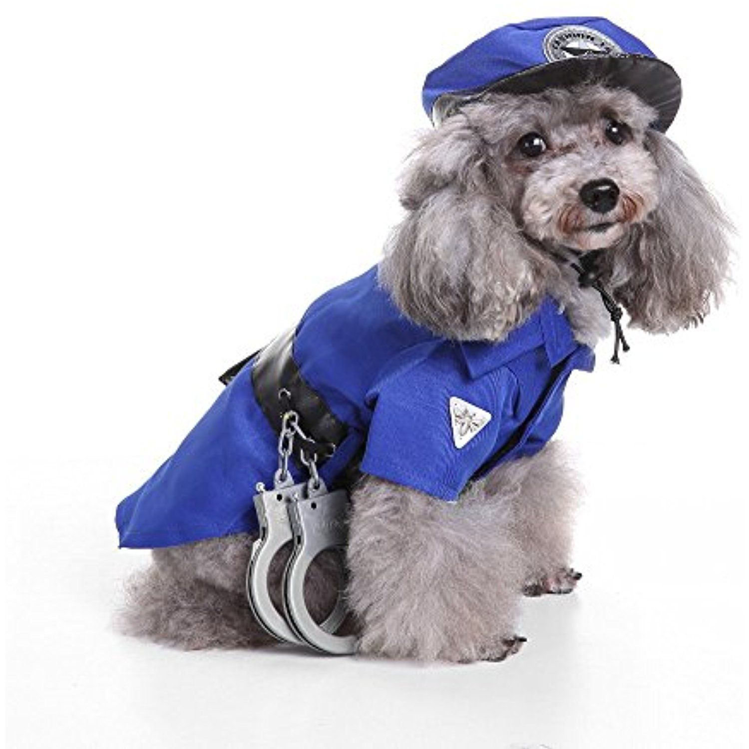 LINGERY Halloween Cool And Cute Pet Policeman Cosplay