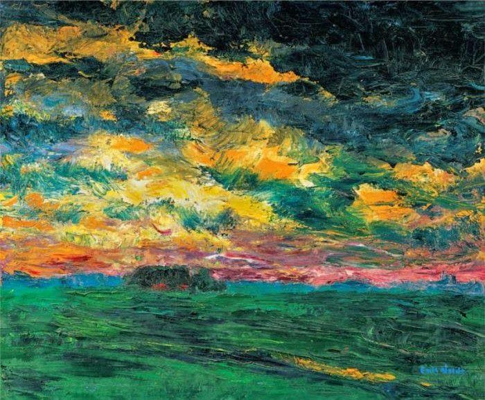 02 Nuages Dans La Peinture Au 20 Eme Siecle Peinture De Soleil Les Arts Peinture