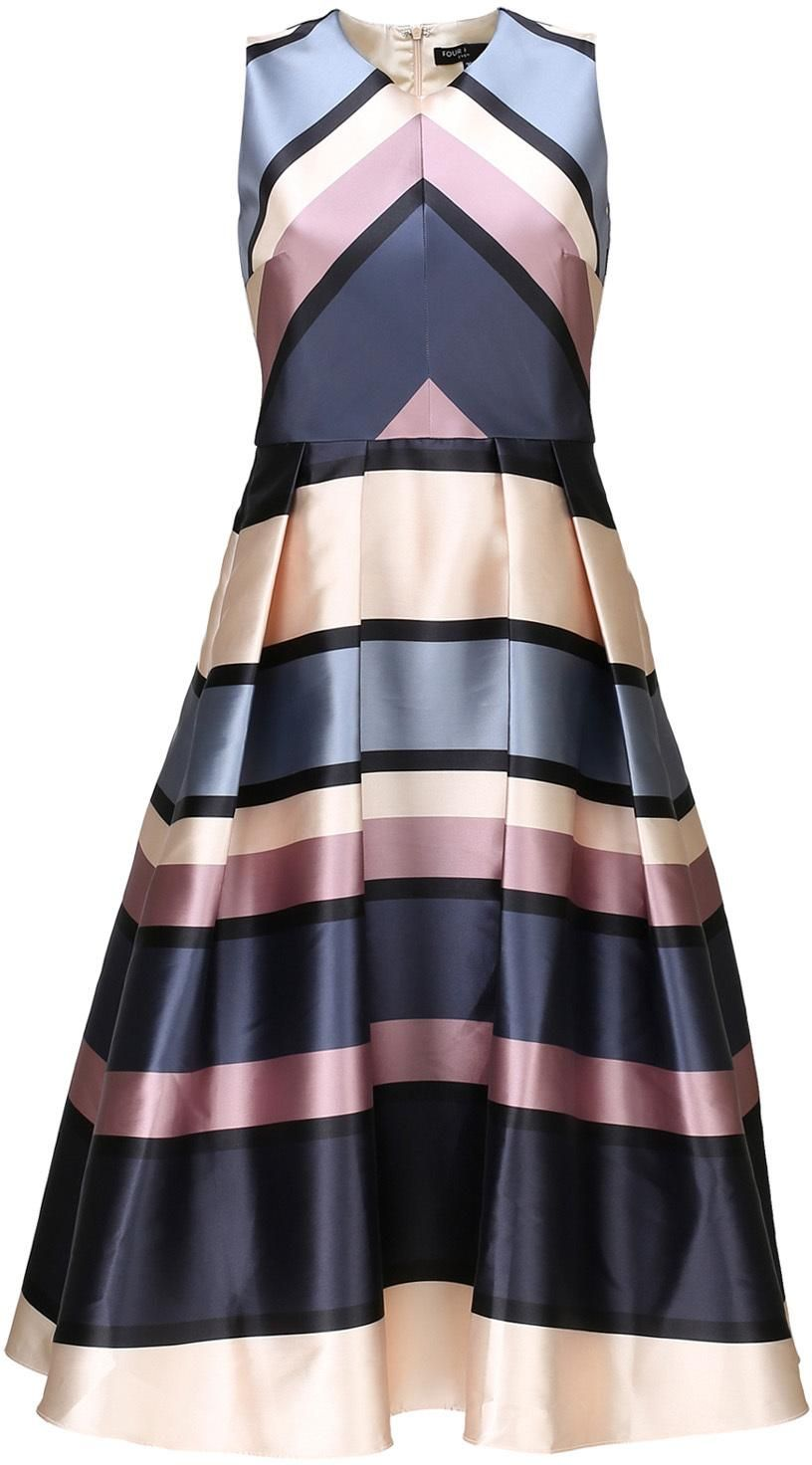 the best attitude ef970 69b26 Four Flavor Cocktailkleid 'ILA', print in blau | ABOUT YOU ...