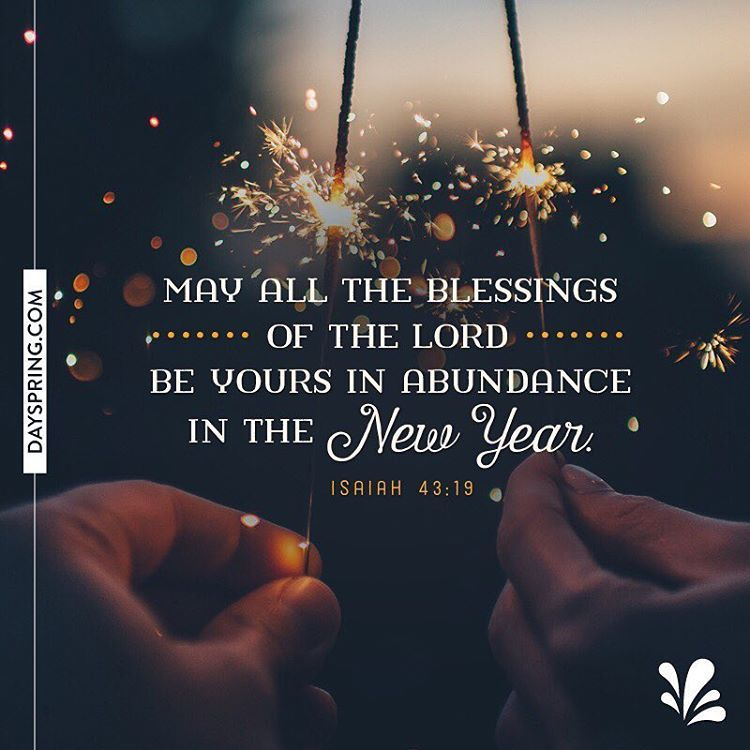 May all the blessings of the Lord be yours in abundance in the new ...