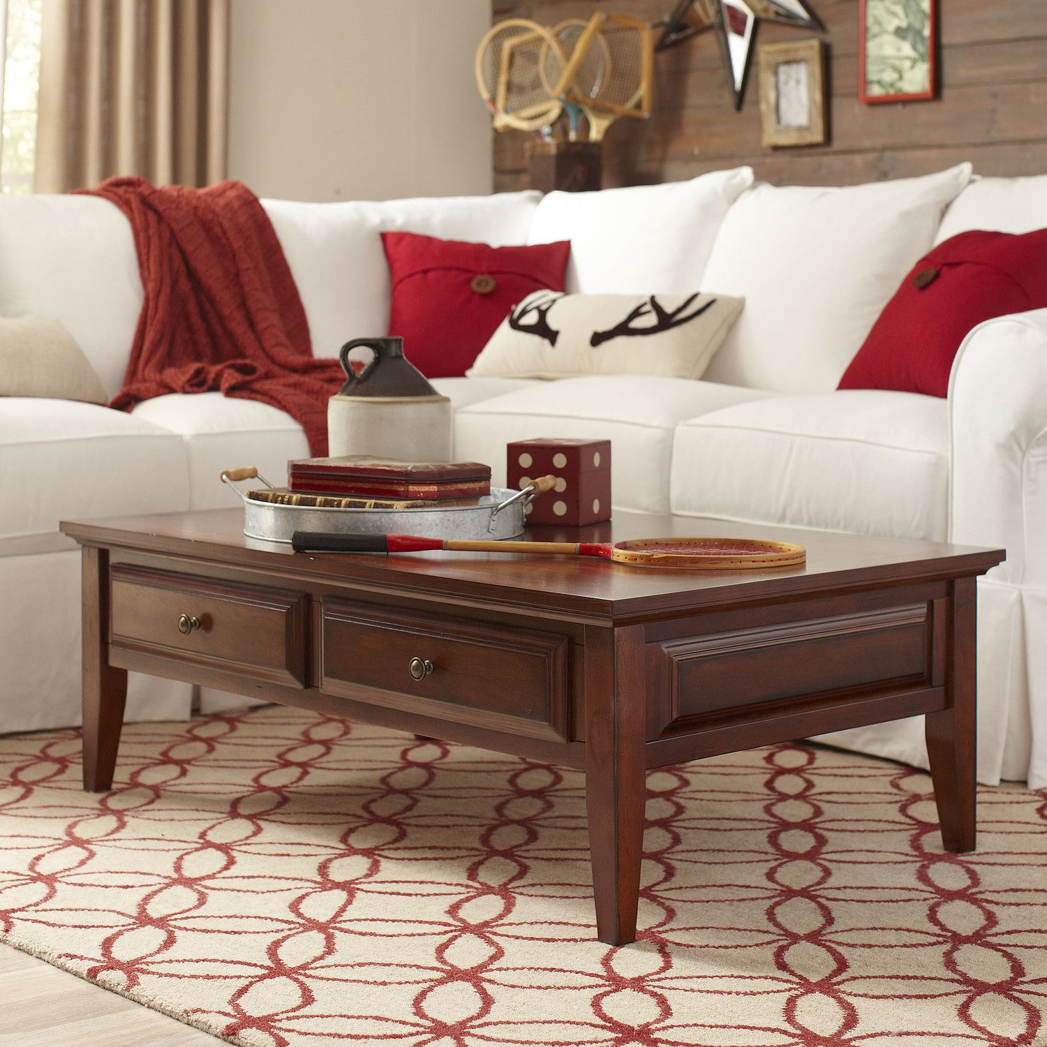 Birch Lane Howland Coffee Table Coffee Table Furniture Traditional Furniture [ 1500 x 1500 Pixel ]