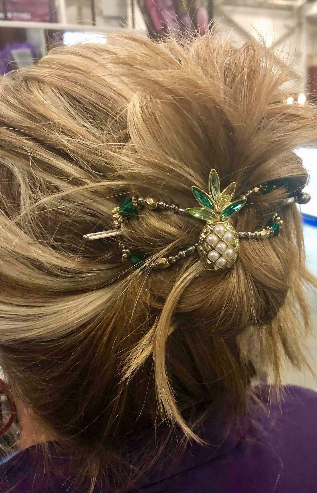 Piña the fun pineapple flexi clip easy hairstyle ideas with
