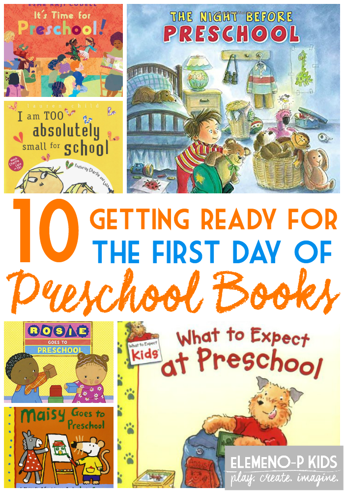 Kinder Garden: Getting Ready For The First Day Of Preschool Books