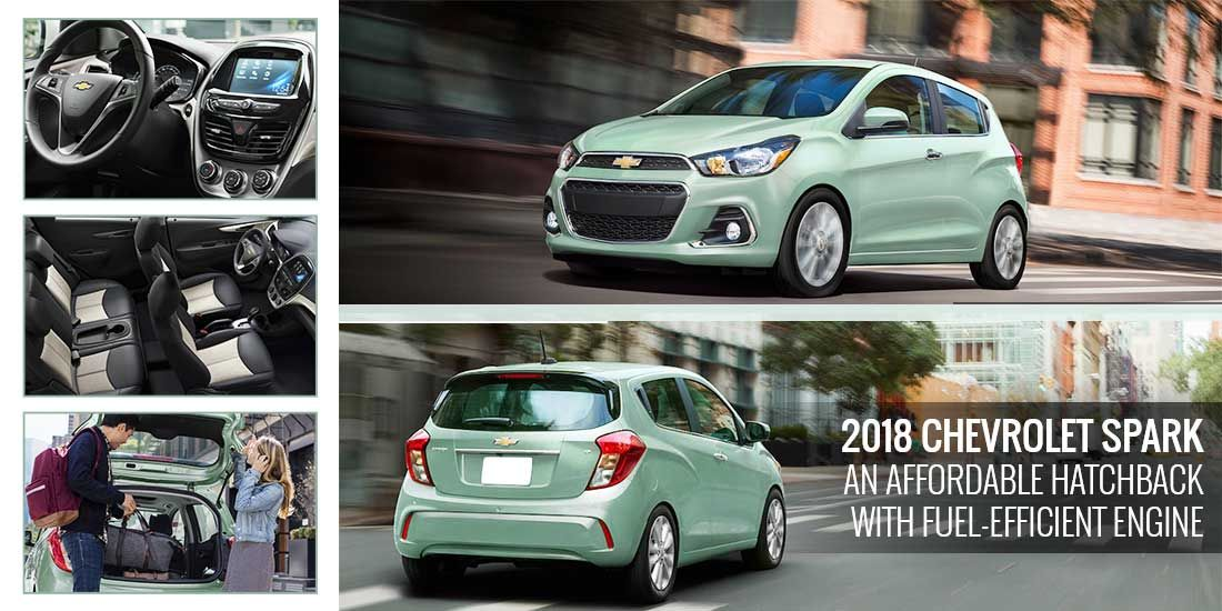 2018 Chevrolet Spark Is An Affordable Hatchback With A Fuel