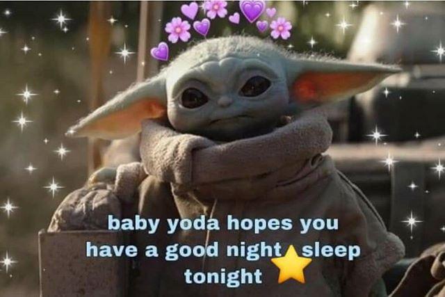 Instagram Yoda Meme Yoda Funny Good Night Baby