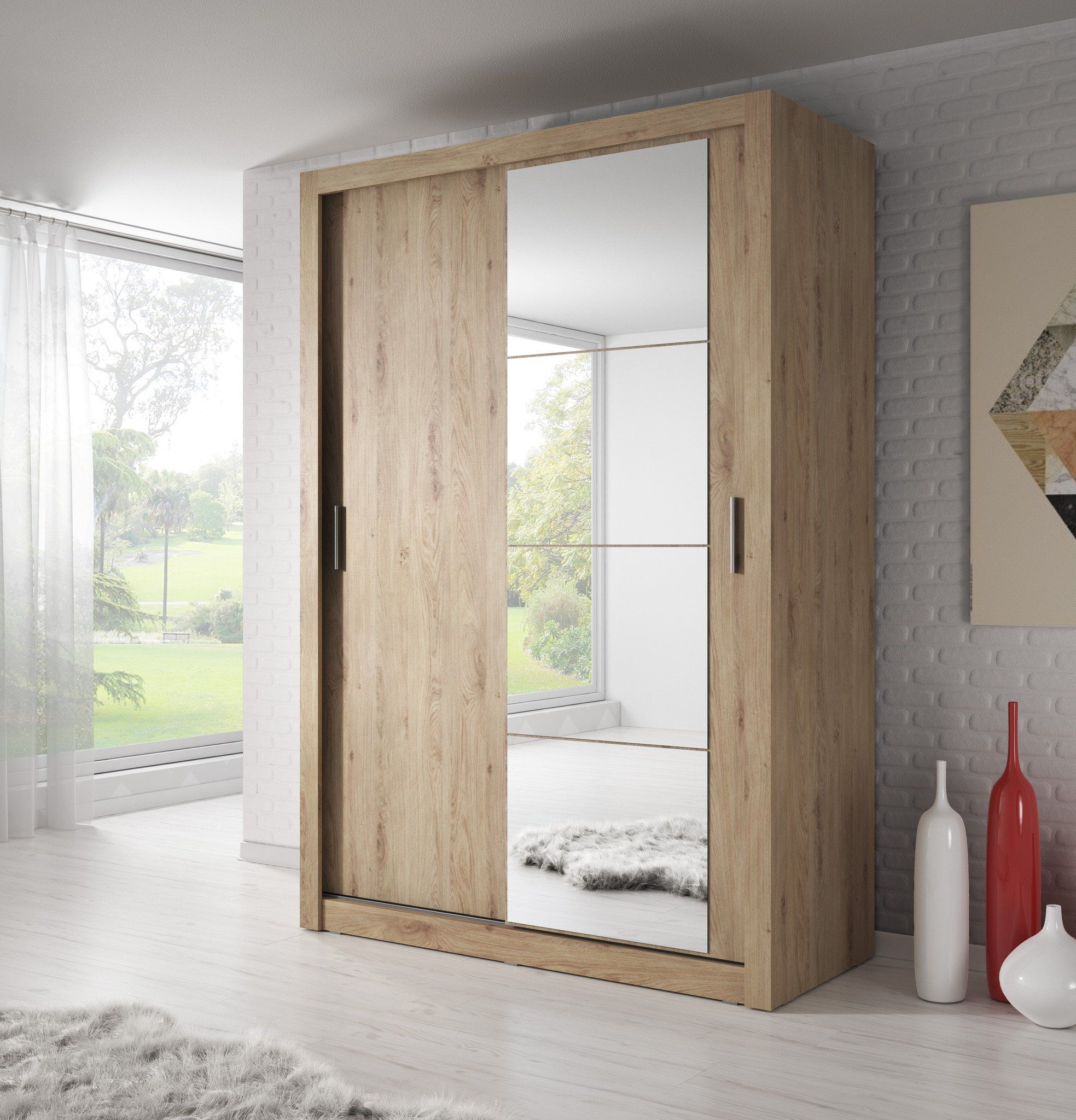 Where Space Is Limited And Appearance Is Essential Sliding Door Wardrobe Is Perfect Solution F Sliding Wardrobe Wardrobe Design Bedroom Sliding Wardrobe Doors