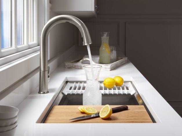 Kohler Kitchen Sink Accessories Kohler k 5540 prolific under mount stainless steel sink with kohler k 5540 prolific under mount stainless steel sink with accessories workwithnaturefo