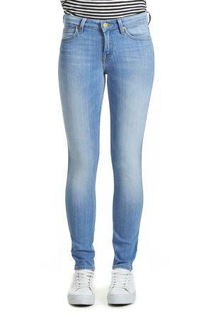 f63bd526935e jeans lee scarlett skinny bright blue bleu femme skinny jeans femme ...