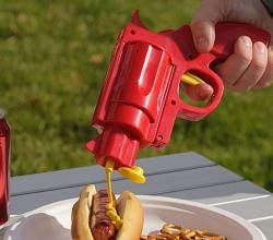 Funky Condiment Gun To Spice Up Your BBQ Party | ifood.tv