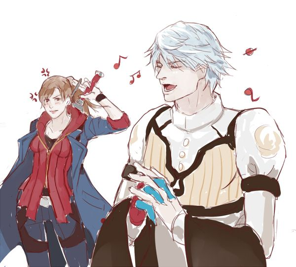 Devil May Cry Nero And Kyrie
