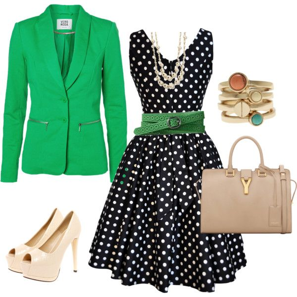 """green avenue"" by guadafdg on Polyvore"