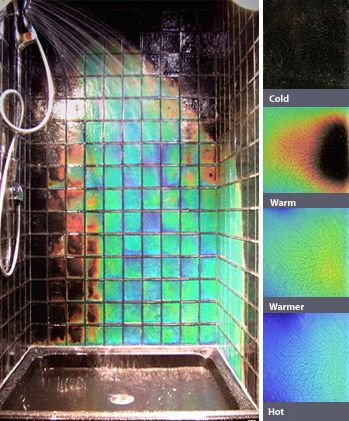 Heat Sensitive Tiles - pretty!